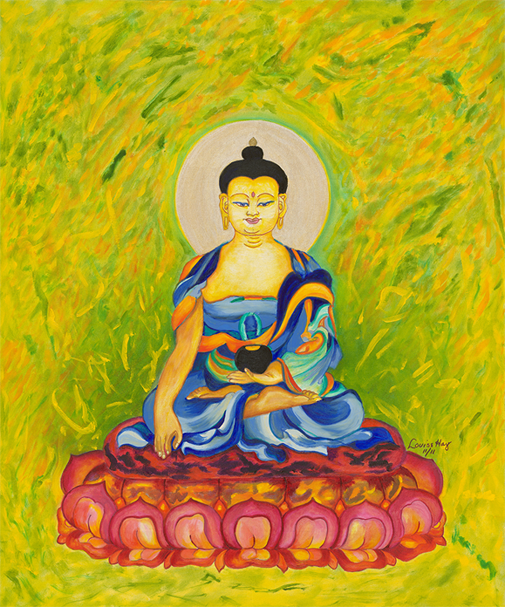 Blessing Buddha Painting