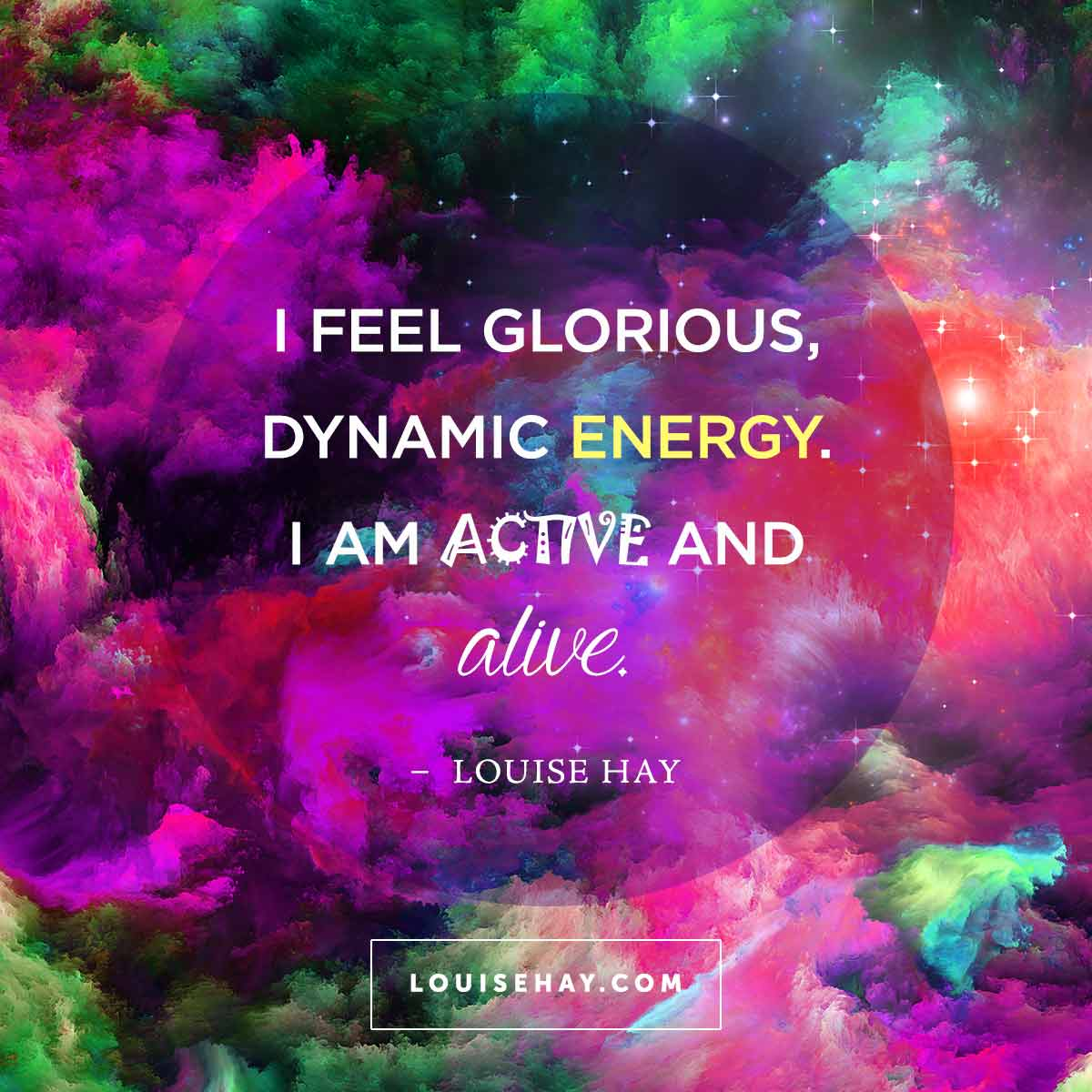 Dynamic Leadership Quotes: Daily Affirmations & Beautiful Quotes From Louise Hay
